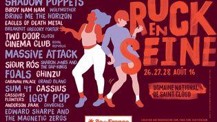 L'affiche du festival 2016 (Rock en Seine)