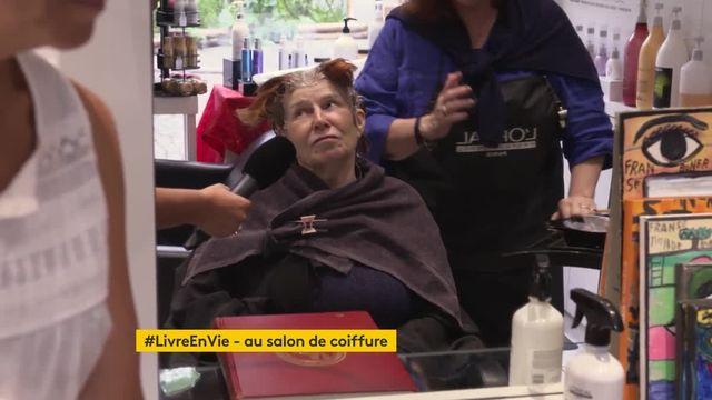 #LireEnVie chez le coiffeur