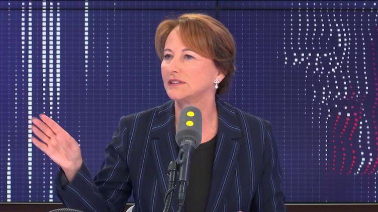 Ségolène Royal, présidente de l'ONG Désir d'Avenir pour la Planète et ambassadrice des pôles. (FRANCEINFO / RADIOFRANCE)