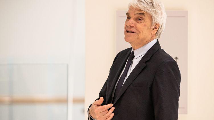 Bernard Tapie à Paris, le 20 mars 2019. (AURELIEN MORISSARD / MAXPPP)