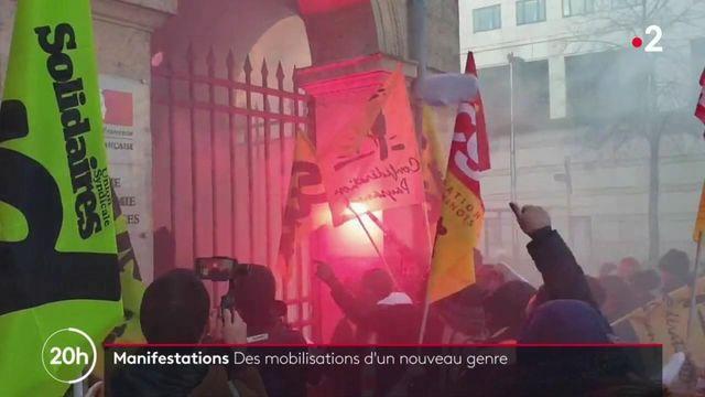 Grève du 16 janvier : des actions d'un nouveau genre