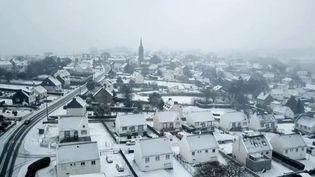Neige en Bretagne. (FRANCE 3)