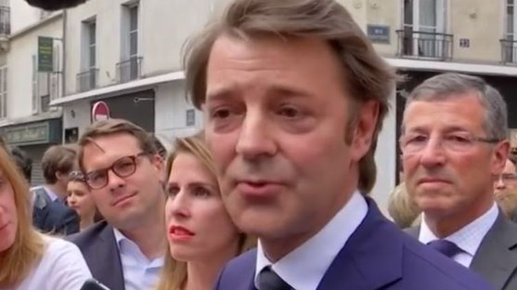 Affaire Richard Ferrand : les réactions de la classe politique (FRANCE 2)