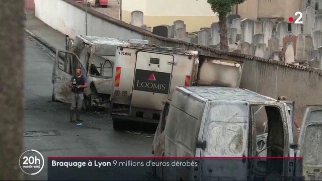 Lyon : 9 millions d'euros dérobés dans un braquage