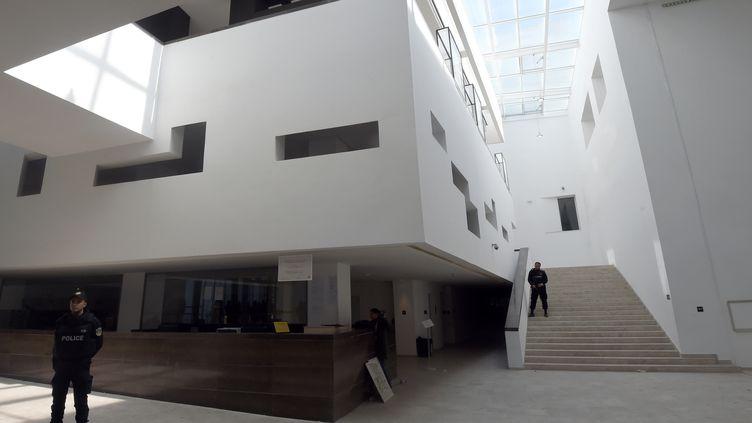 L'intérieur du musée du Bardo, le 19 mars 2015, près de Tunis (Tunisie). (FETHI BELAID / AFP)
