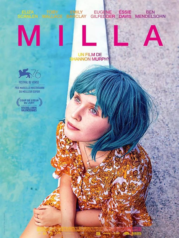 """Poster of """"Milla"""" by Shannon Murphy (2021).  (MOMENTO)"""