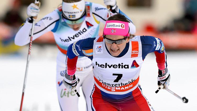 La Norvégienne Maiken Falla (FABRICE COFFRINI / AFP)