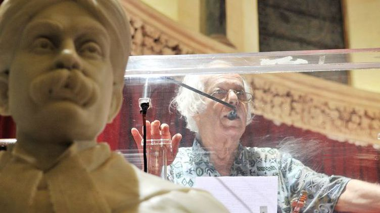 Samir Amin est décédé à Paris à l'âge de 87 ans (TEJAL PANDEY / THE TIMES OF INDIA/AFP)