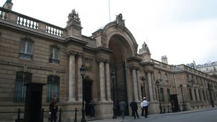 Le palais de l'Élysée. (ANTONIN SABOT / RADIOFRANCE)