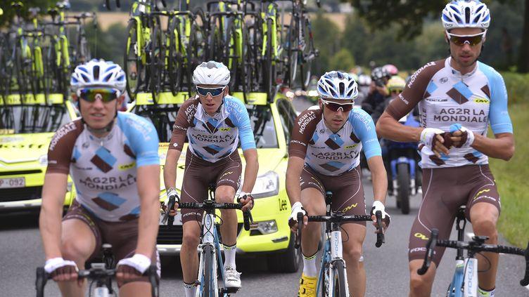 Romain Bardet, bien entouré. (DE WAELE TIM / TDWSPORT SARL)