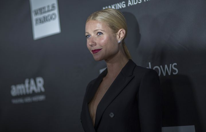 L'actrice Gwyneth Paltrow au gala de l'Amfar à Los Angeles, le 29 octobre 2014. (MARIO ANZUONI / REUTERS)
