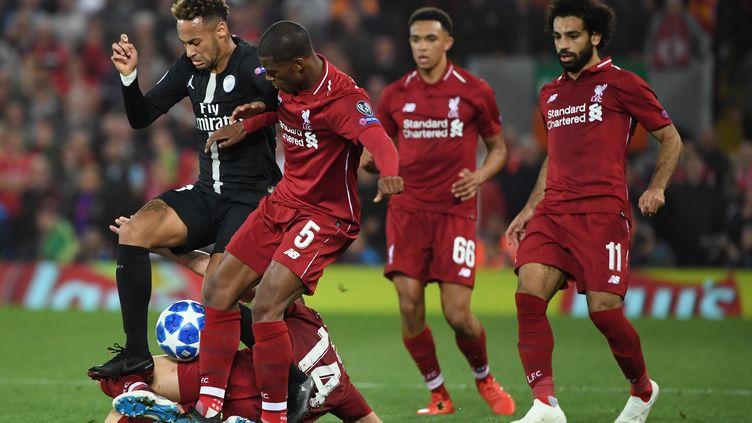 Au match aller, les coéquipiers de Neymar ont été battus(3-2). (PAUL ELLIS / AFP)
