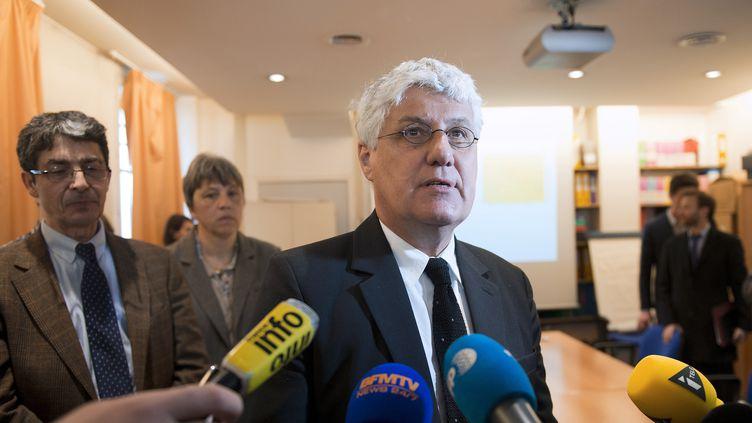 Philippe Martin, le ministre de l'Ecologie, le 15 mars 2014, à Paris. (LIONEL BONAVENTURE / AFP)