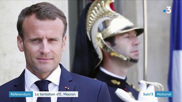 """""""Gilets jaunes"""" : la tentation du référendum chez Macron fait débat"""