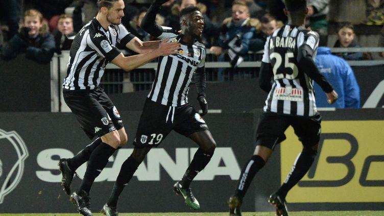Nicolas Pepe a encore marqué pour Angers (JEAN-FRANCOIS MONIER / AFP)