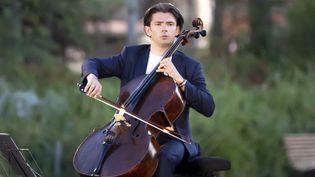 Le violoncelliste Gautier Capuçon en 2020 à Nice. (SYSPEO/SIPA)