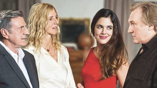 """Daniel Auteuil, Sandrine Kiberlain, Adriana Ugarte et Gérard Depardieu dan """"Amoureux de ma femme"""" de Daniel Auteuil  (Sony Pictures Releasing France )"""