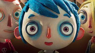 """""""Ma vie de courgette"""", détail de l'affiche  (RITA PRODUCTIONS / BLUE SPIRIT PRODUCTIONS / GEBEKA FILMS / KNM / RTS SSR / FRANCE 3 CINEMA / RHONES-ALPES CINEMA / HELIUM FILMS 2016)"""