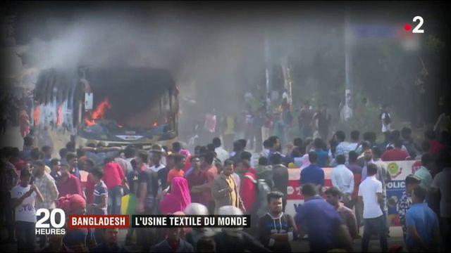 Bangladesh : l'usine textile du monde
