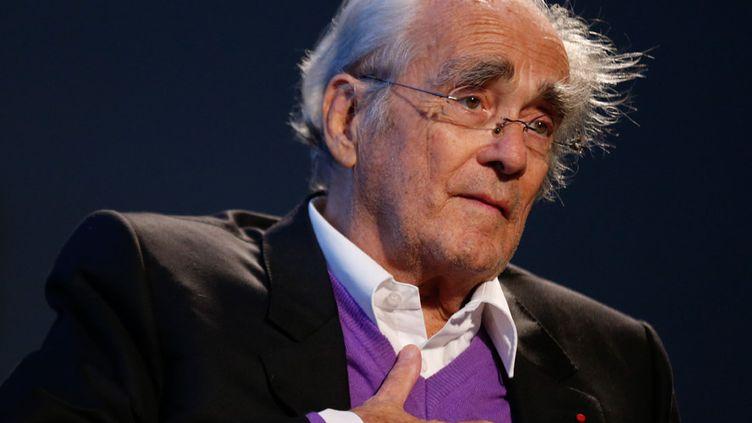 Michel Legrand en octobre 2014 au festival Lumière, à Lyon  (FABRICE ELSNER/SIPA/1410141752)