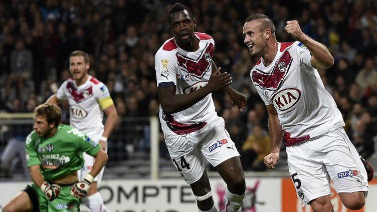 Nicolas Pallois a connu la joie d'être buteur avant d'être expulsé à l'heure de jeu. (PASCAL PAVANI / AFP)
