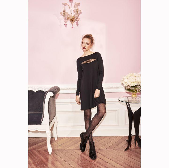 Chantal Thomass x Damart : robe avec dentelle  (Chantal Thomass x Damart)