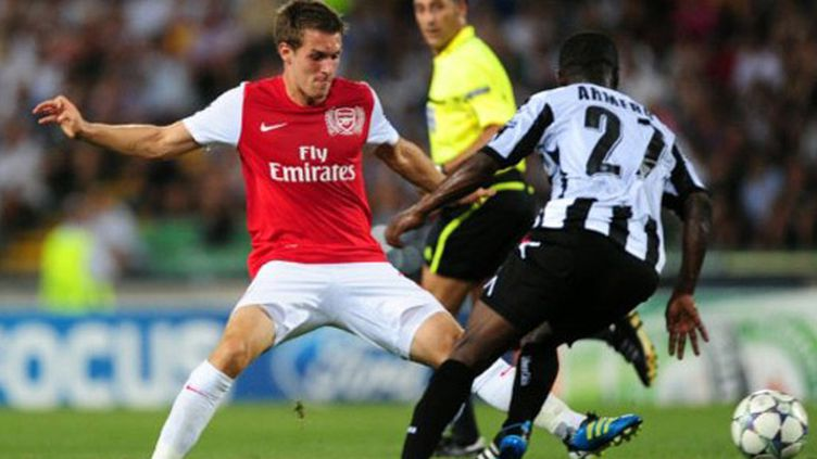 Ramsey barre la route d'Udinese