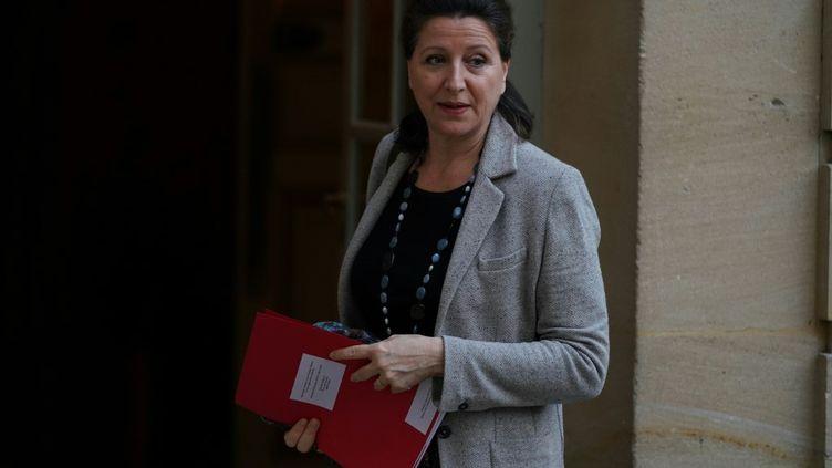 La ministre de la Santé Agnès Buzyn, lors de son arrivée à Matignon le 19 décembre 2019. (MARTIN BUREAU / AFP)