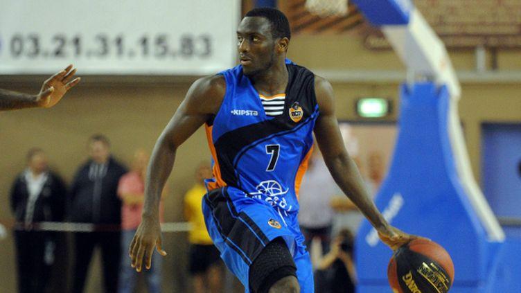 Souleymane Diabaté (BCM Gravelines) a inscrit 14 points face à Nanterre.