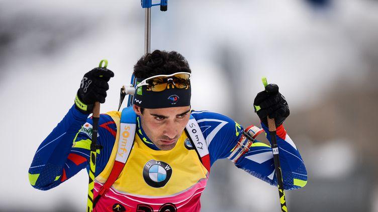 Martin Fourcade a égalé Raphaël Poirée en remportant un 44e succès (ALEXANDER VILF / RIA NOVOSTI)