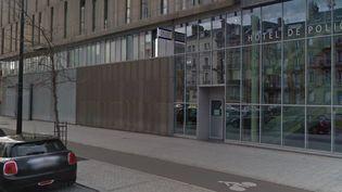 L'entrée du commissariat de police du Havre (Seine-Maritime). (CAPTURE ECRAN GOOGLE STREET VIEW)