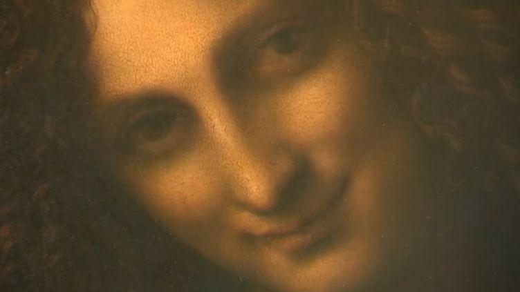 Saint Jean Baptiste restauré (détail du tableau)  (Capture d'écran/Culturebox)