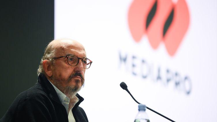 Le président de Mediapro Jaume Roures le 21 octobre dernier. (FRANCK FIFE / AFP)