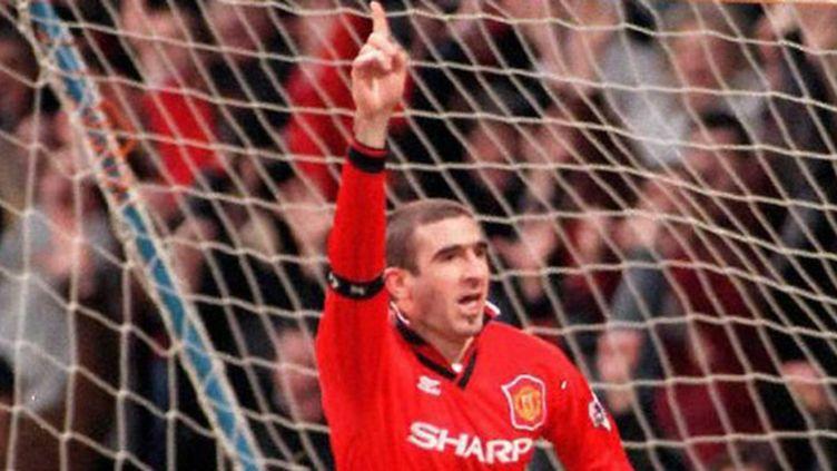 Eric Cantona, idole de Old Trafford