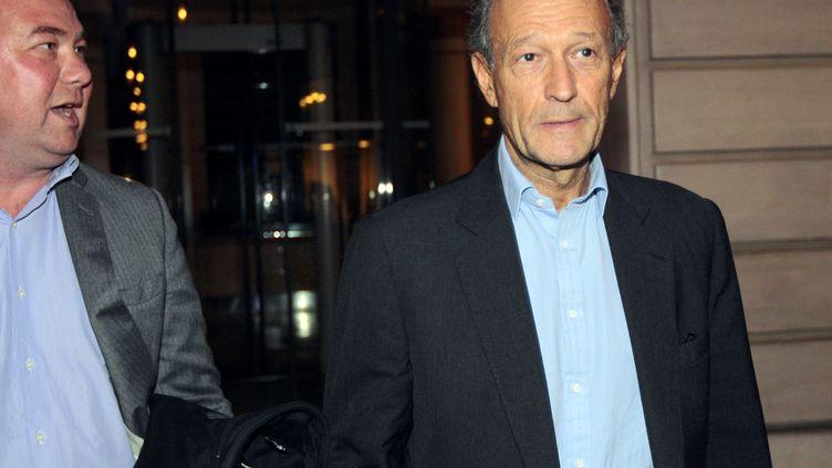 L'ancien conseiller de Nicolas Sarkozy Thierry Gaubert à Paris, le 21 septembre 2011. (JACQUES DEMARTHON / AFP)