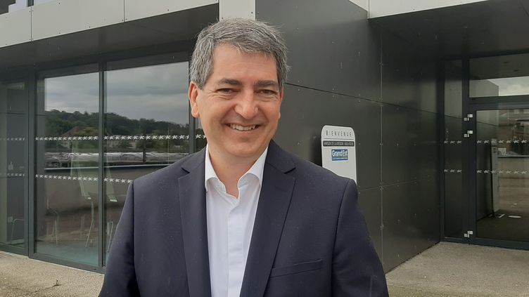 Jean Rottner, le président de la région Grand Est, médecin urgentiste. (SEBASTIEN BAER / RADIO FRANCE)