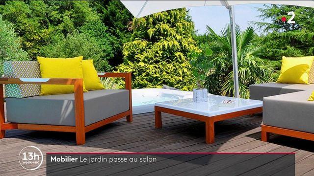 Mobilier : les Français craquent pour le salon d'extérieur