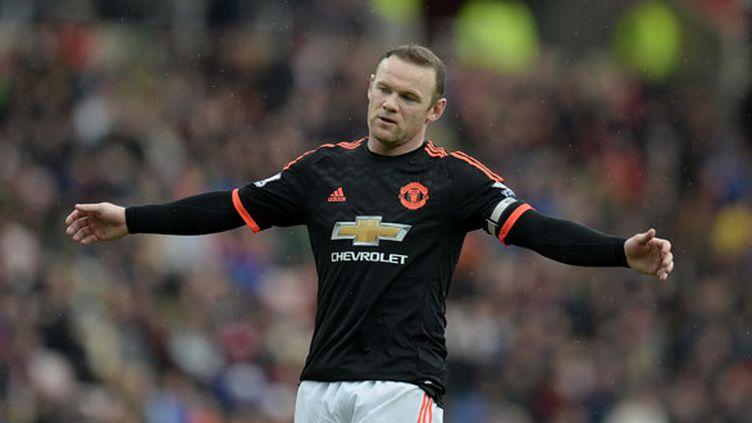 L'attaquant de Manchester United, Wayne Rooney