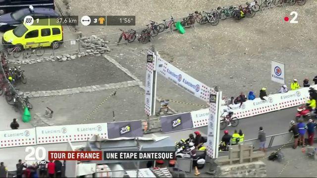 Tour de France : une 19e étape de montagne qui restera dans les annales