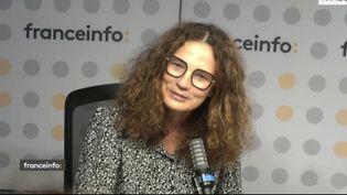 Catherine Schofer, directrice générale de Paris Première. (CAPTURE ECRAN  FRANCEINFO)