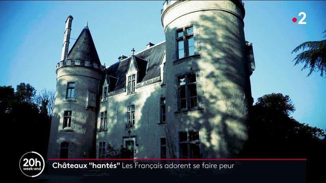 """Paranormal : l'engouement pour les """"châteaux hantés"""""""