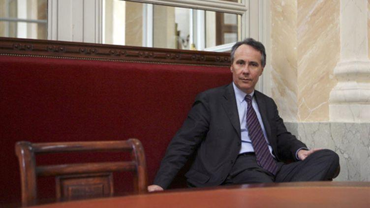 Dominique Paillé à l'Assemblée nationale le 23-5-2006 (AFP - THOMAS COEX)