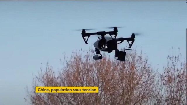 Chine : les autorités surveillent la population avec des drones