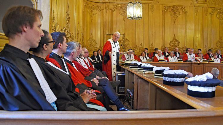 L'audience solennelle de rentrée de la cour d'appel de Nancy (Lorraine), le 31 janvier 2020. (MAXPPP)