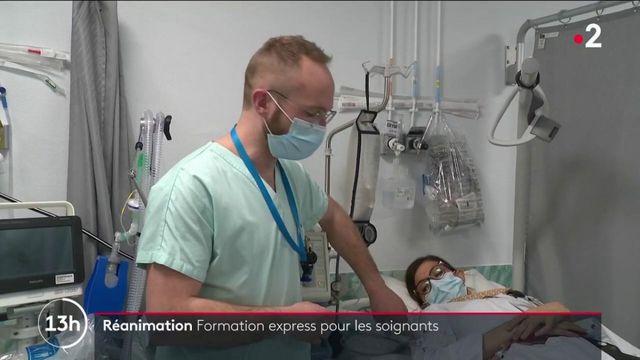 Covid-19 : des soignants formés en quelques jours pour renforcer les services de réanimation