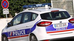 Une voiture de police à Montpellier, en novembre 2016 (illustration). (MAXPPP)
