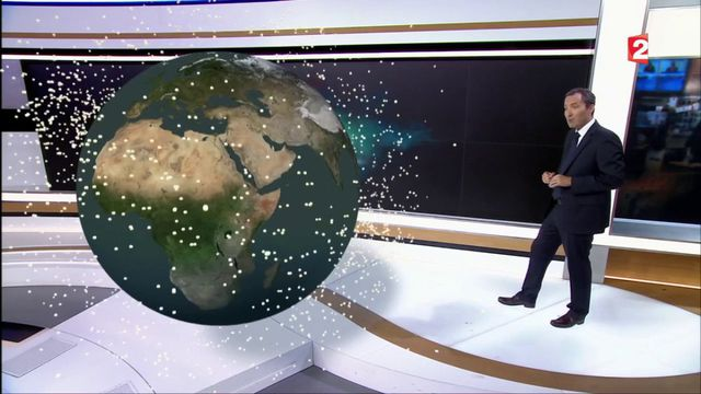 Sciences : les dangers des débris de l'espace