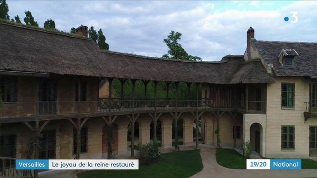 Versailles : ouverture au public du hameau de la Reine restauré