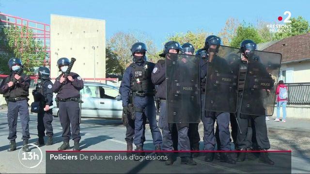 Police : des violences de plus en plus fréquentes contre les forces de l'ordre