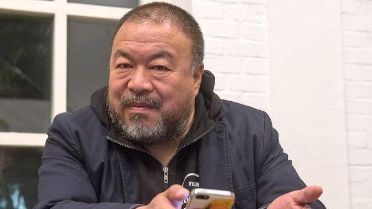Ai Weiwei, artiste et dissident chinois. (PETER KNEFFEL / DPA / DPA PICTURE-ALLIANCE/AFP)